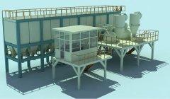 生产不定型耐材为什么要选自动配料生产线